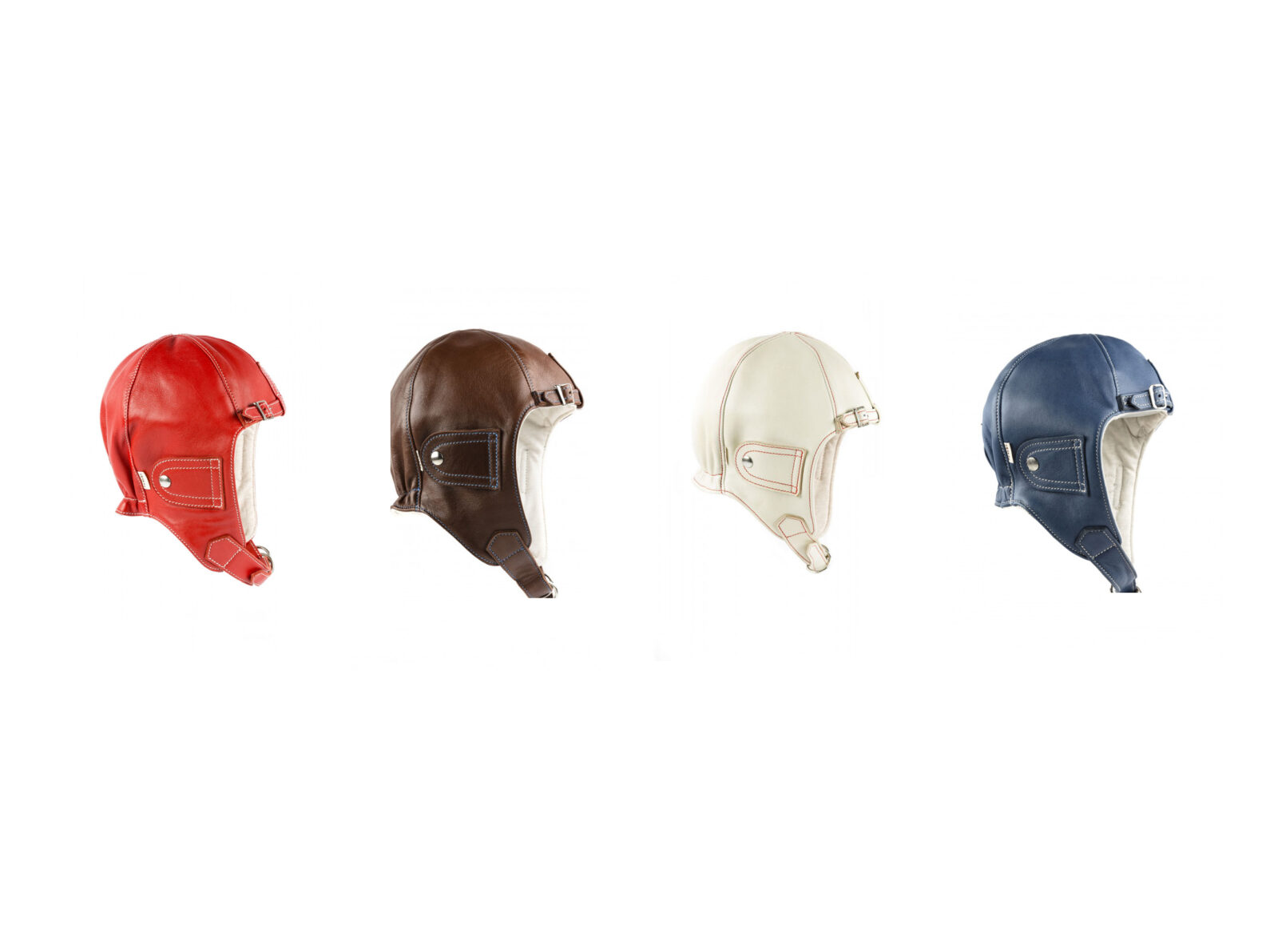 Chapal Leather Driver Helmet Main