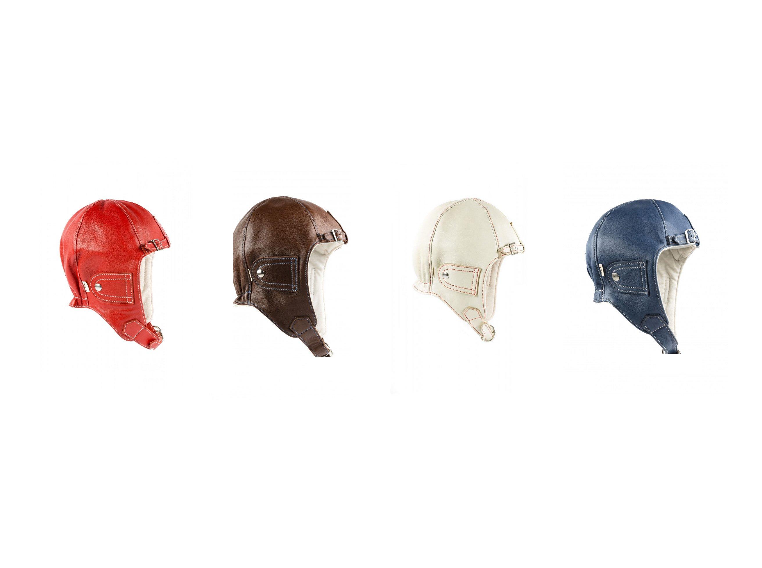 Chapal Leather Driver Helmet Main