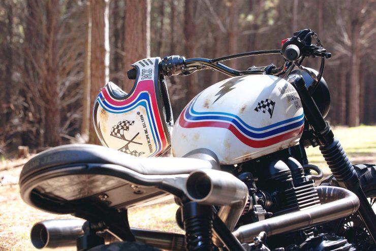 Custom Triumph Scrambler 1