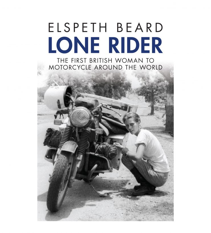 Elspeth Beard Lone Rider Book Cover