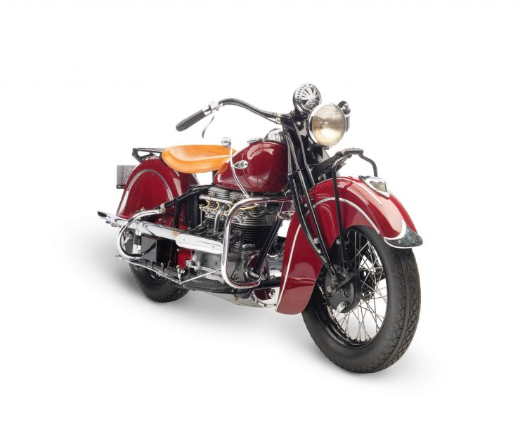 Indian Four Motorcycle Front