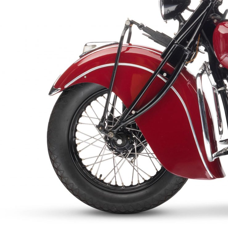 Indian Four Motorcycle Front Fender