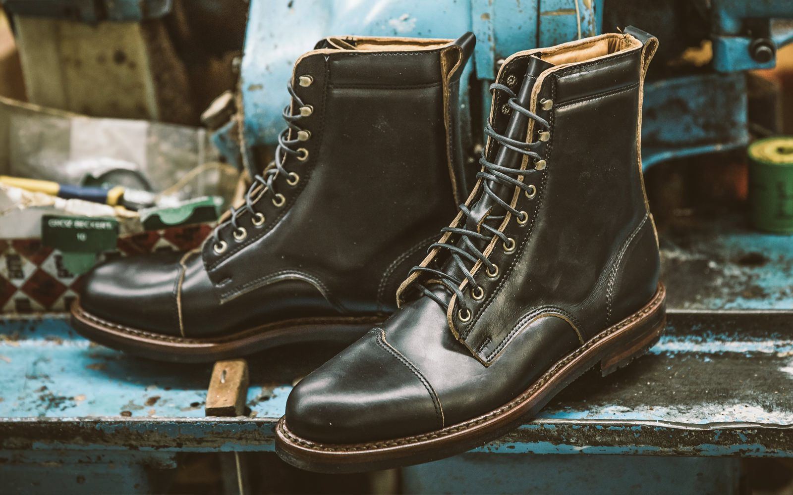 Iron And Air Rancourt Manufacture 2 1600x1000 - The Iron & Air x Rancourt & Co. Traveller Boot