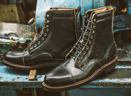 Iron And Air Rancourt Manufacture 2 450x330 - The Iron & Air x Rancourt & Co. Traveller Boot