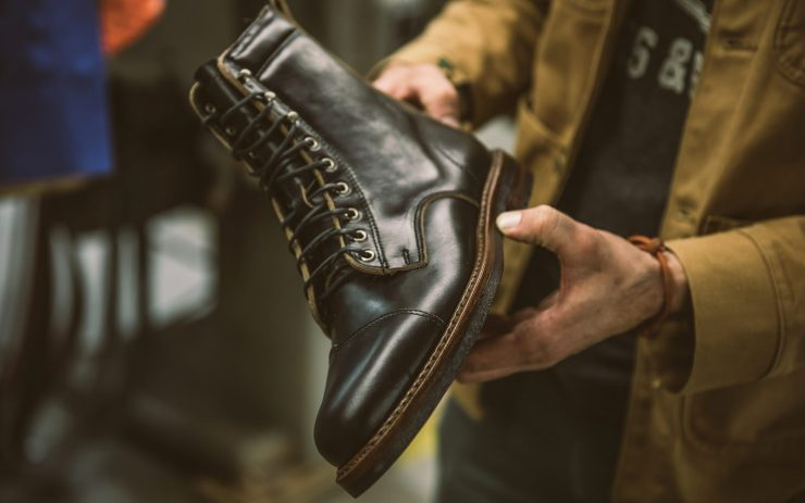 The Iron & Air x Rancourt & Co. Traveller Boot