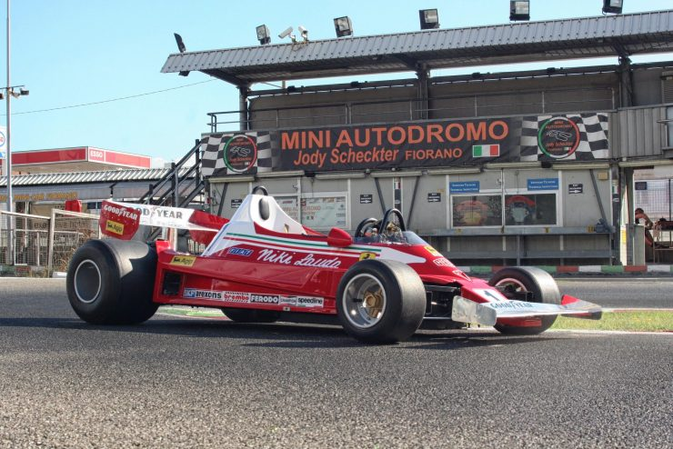 Italy Car Ferrari 312T2 Formula 1 Childs Car 2
