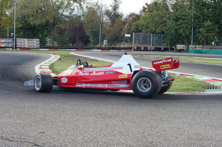 Italy Car Ferrari 312T2 Formula 1 Childs Car 4