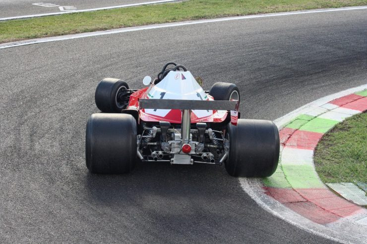 Italy Car Ferrari 312T2 Formula 1 Childs Car Back