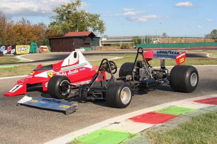 Italy Car Ferrari 312T2 Formula 1 Childs Car Body Off