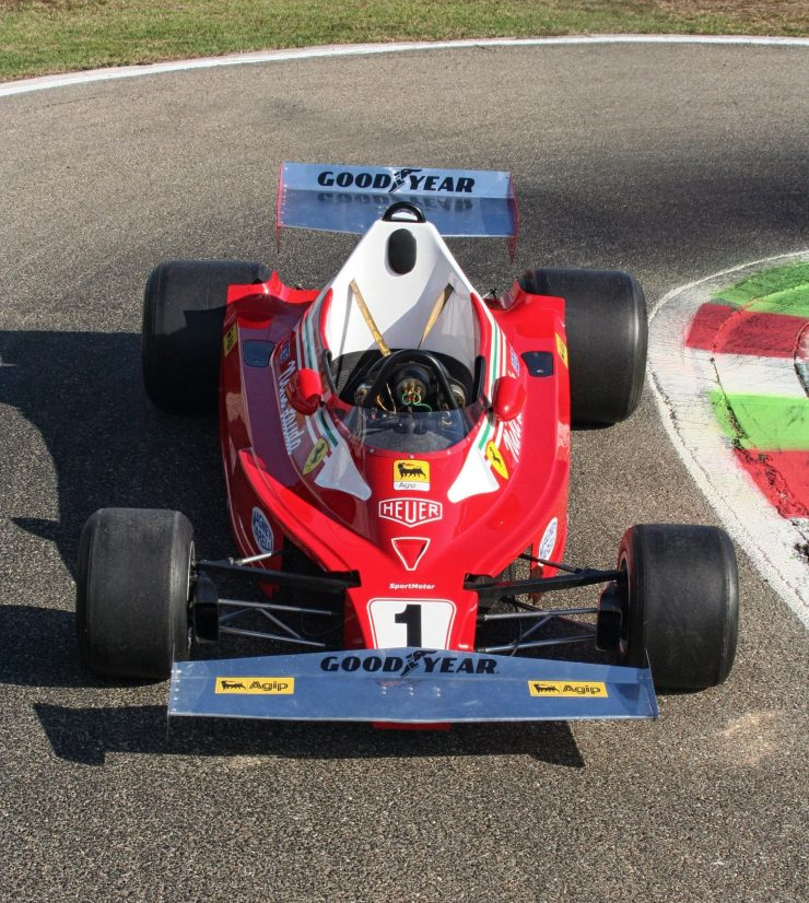 Italy Car Ferrari 312T2 Formula 1 Childs Car Front