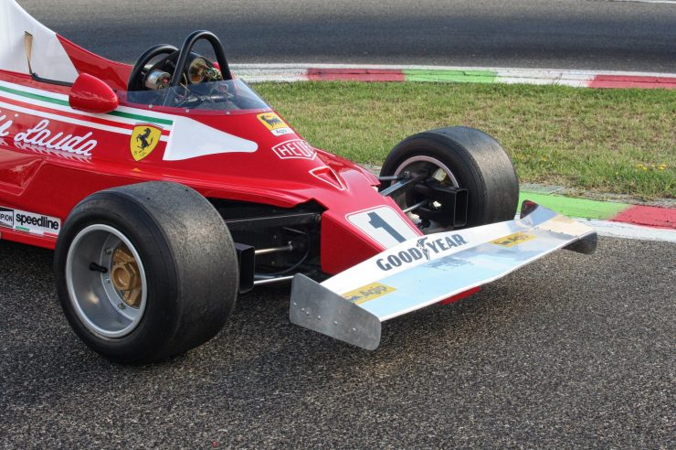 Italy Car Ferrari 312T2 Formula 1 Childs Car Front Wing