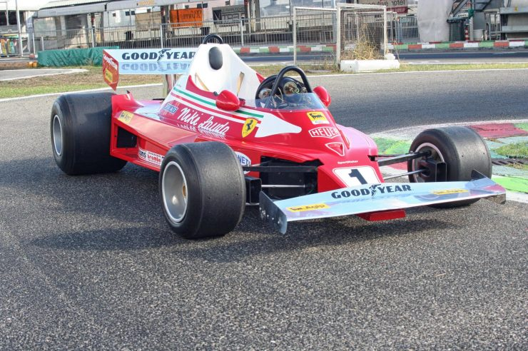 Italy Car Ferrari 312T2 Formula 1 Childs Car Main