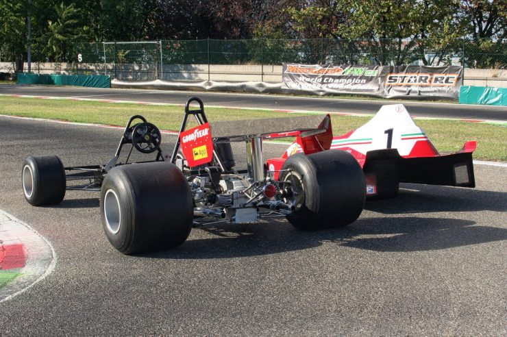 Italy Car Ferrari 312T2 Formula 1 Childs Car Rear