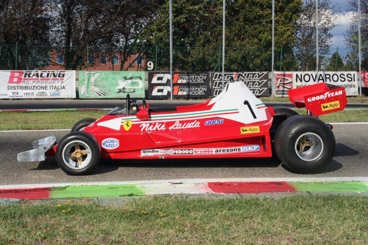 Italy Car Ferrari 312T2 Formula 1 Childs Car Side