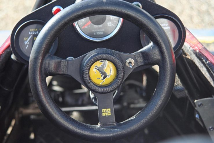 Italy Car Ferrari 312T2 Formula 1 Childs Car Steering Wheel