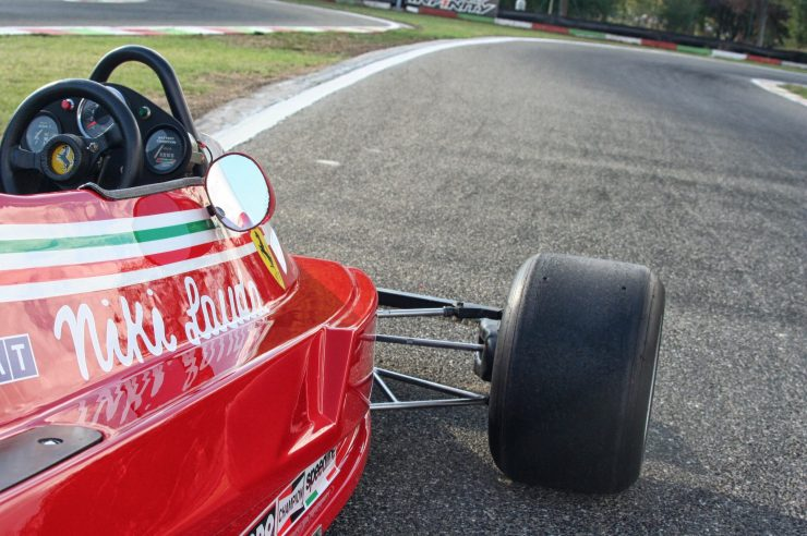 Italy Car Ferrari 312T2 Formula 1 Childs Car Suspension