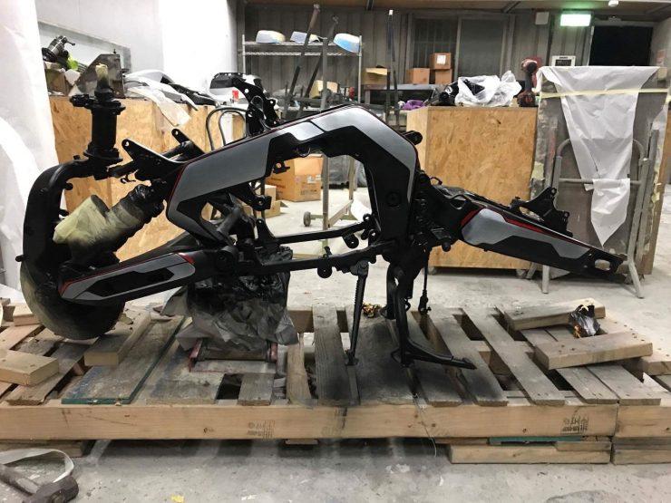 JSK Moto Co. Yamaha GTS 1000 Project Rhodium Omega 9 740x555 - The JSK Moto Co. Custom Yamaha GTS 1000 - Project Rhodium Omega