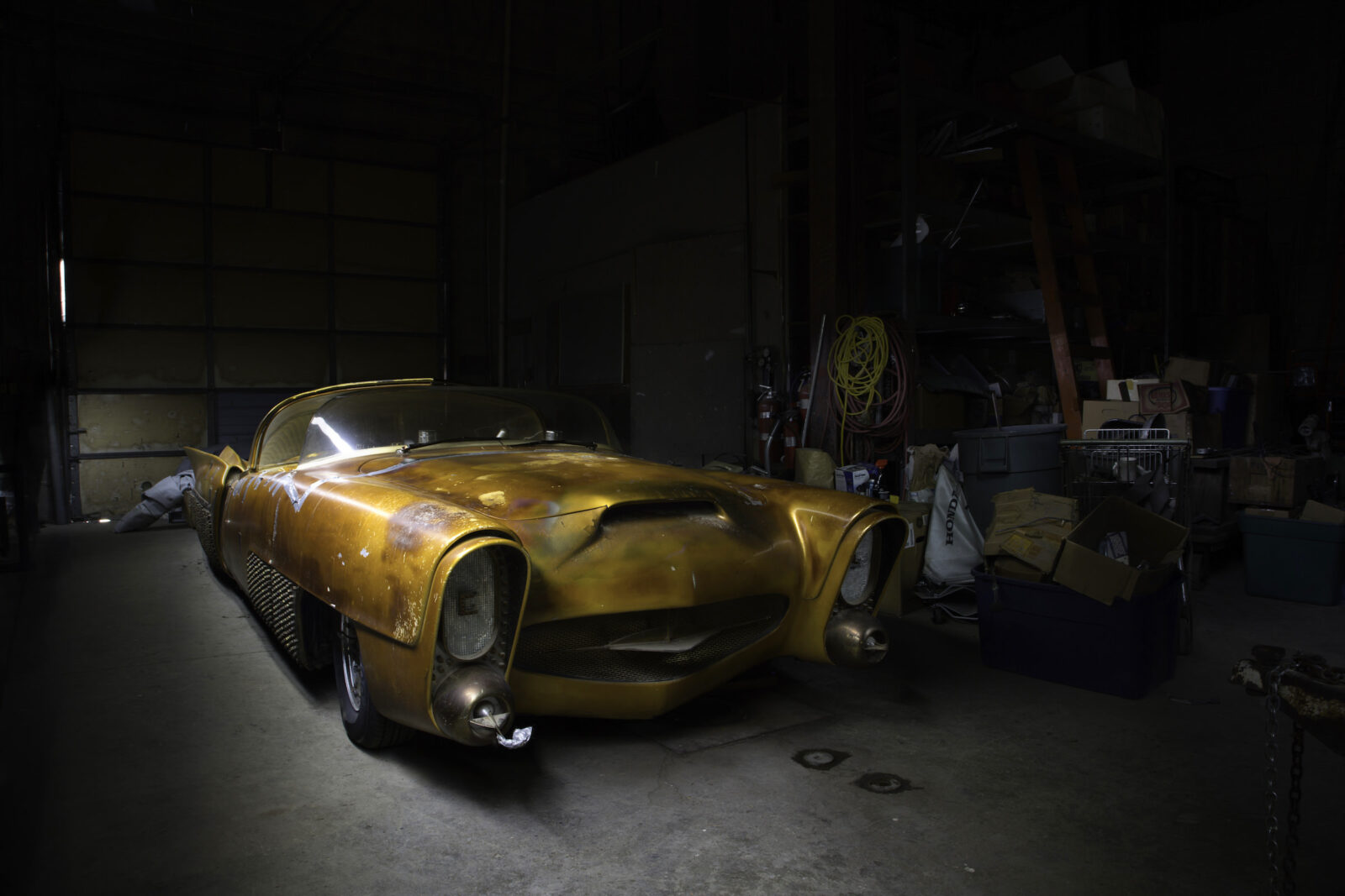 Jim Street George Barris Golden Sahara Custom