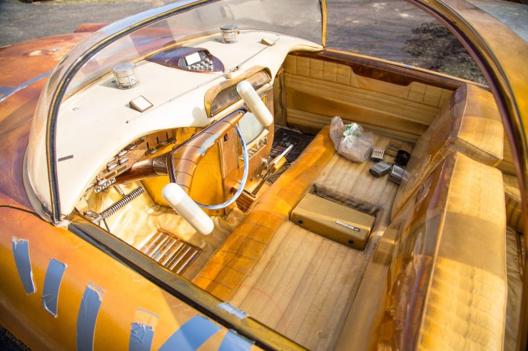 Jim Street George Barris Golden Sahara Custom Car