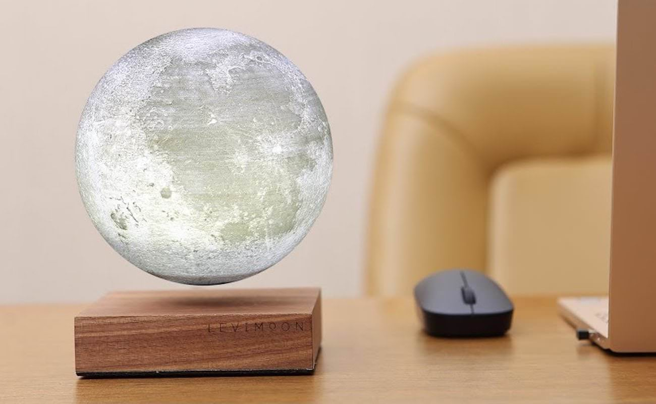 Lithium Ion Battery >> LeviMoon - The World's First Levitating Moon Lamp