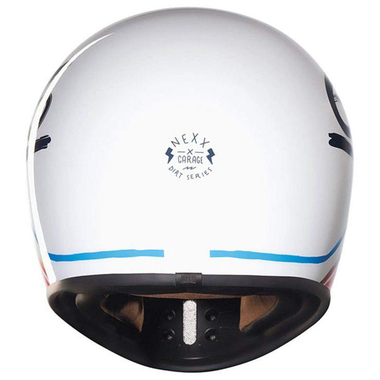 Nexx XG200 Flat 6 Motorcycle Helmet Back