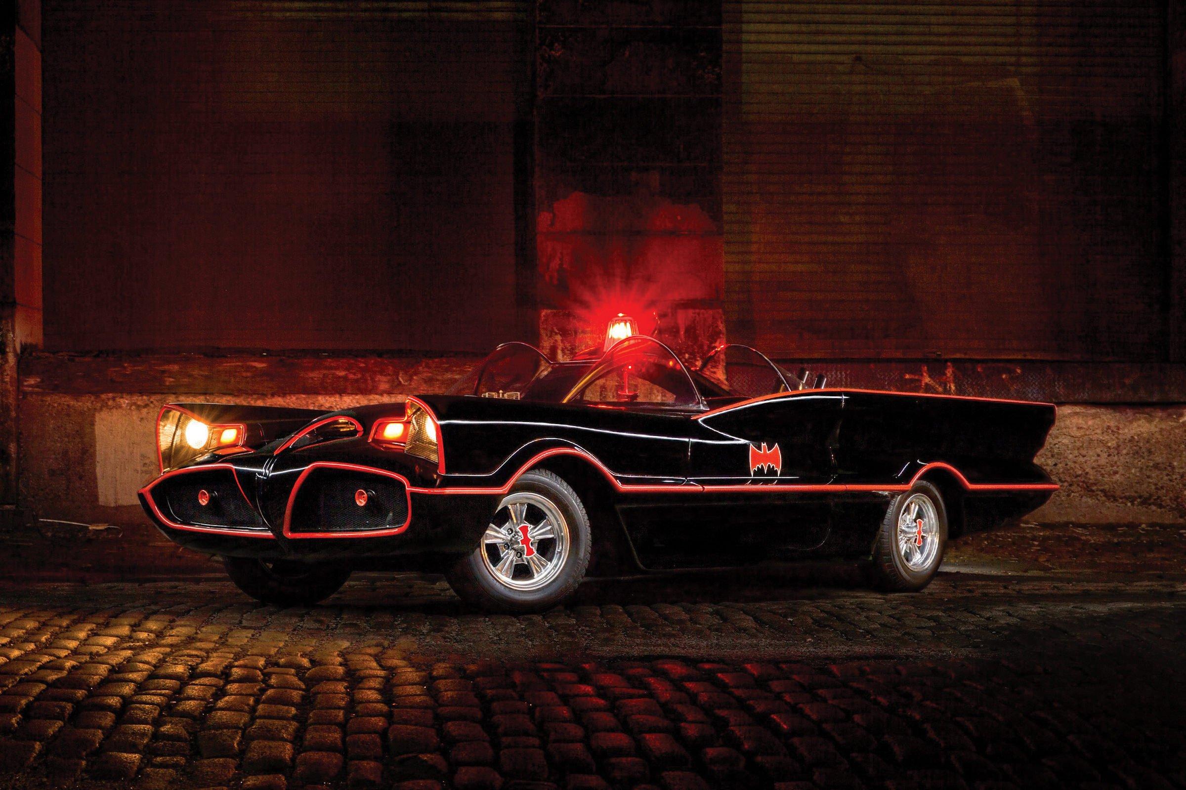 Original TV Batmobile