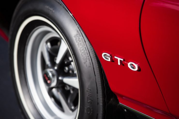 Pontiac GTO Badge