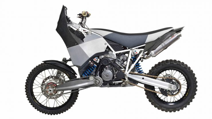 Projekt DT-A KTM 990 Adventure Two-Wheel Drive