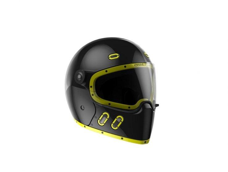 Qwart Helmets - A Modular Carbon Fiber Motorcycle Helmet