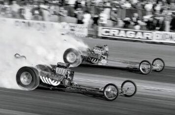 Rick Stewart Drag Racing Seven Second