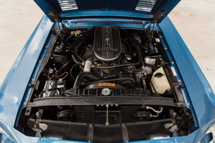 Shelby GT350 Convertible Engine