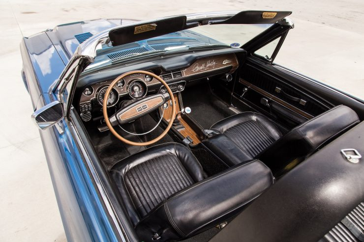 Shelby GT350 Convertible Interior
