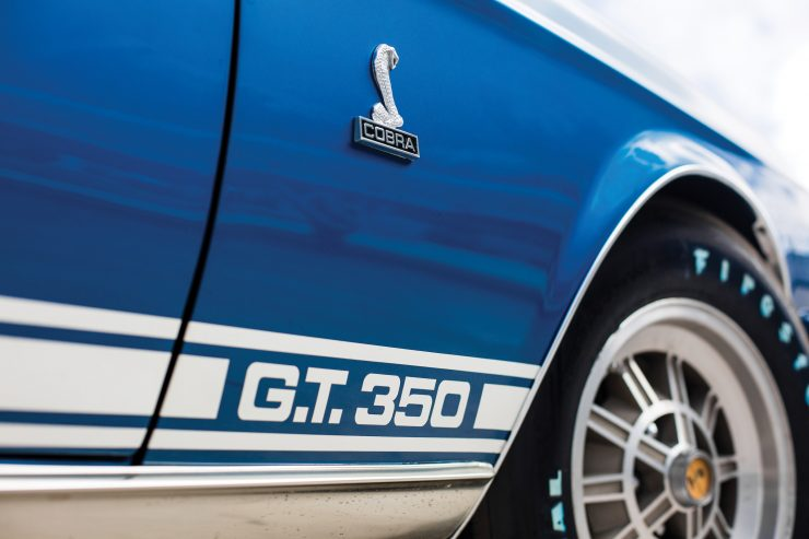 Shelby GT350 Mustang Convertible Logo