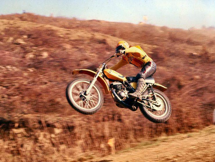 Suzuki Vintage Motocross 1970