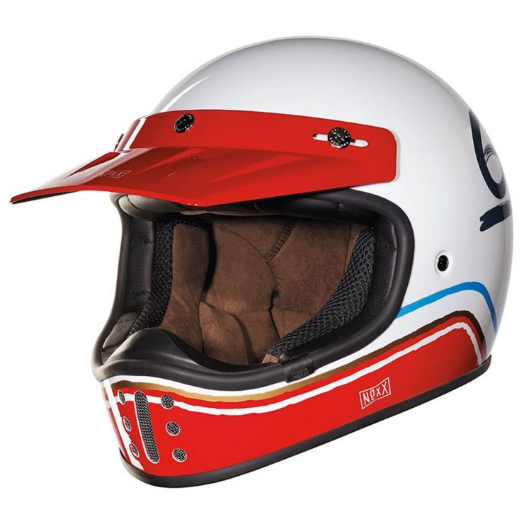 The Nexx XG200 Flat 6 Motorcycle Helmet Front