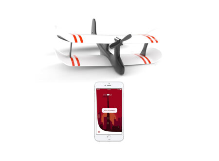 TobyRich Moskito Smartphone App Controlled Airplane 3 450x330 - TobyRich Moskito - Smartphone App Controlled Airplane