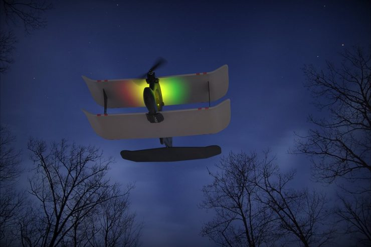 TobyRich Moskito - Smartphone App Controlled Airplane