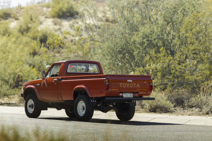 Toyota Hilux Pickup Truck Rear