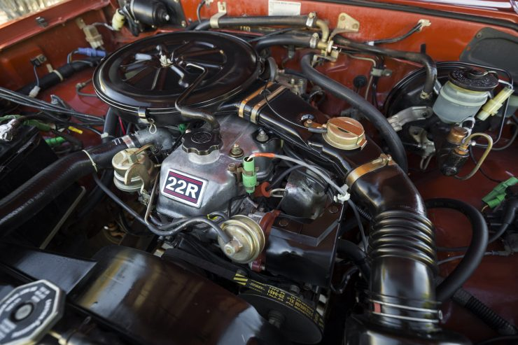 Toyota Hilux Pickup Truck Engine 2