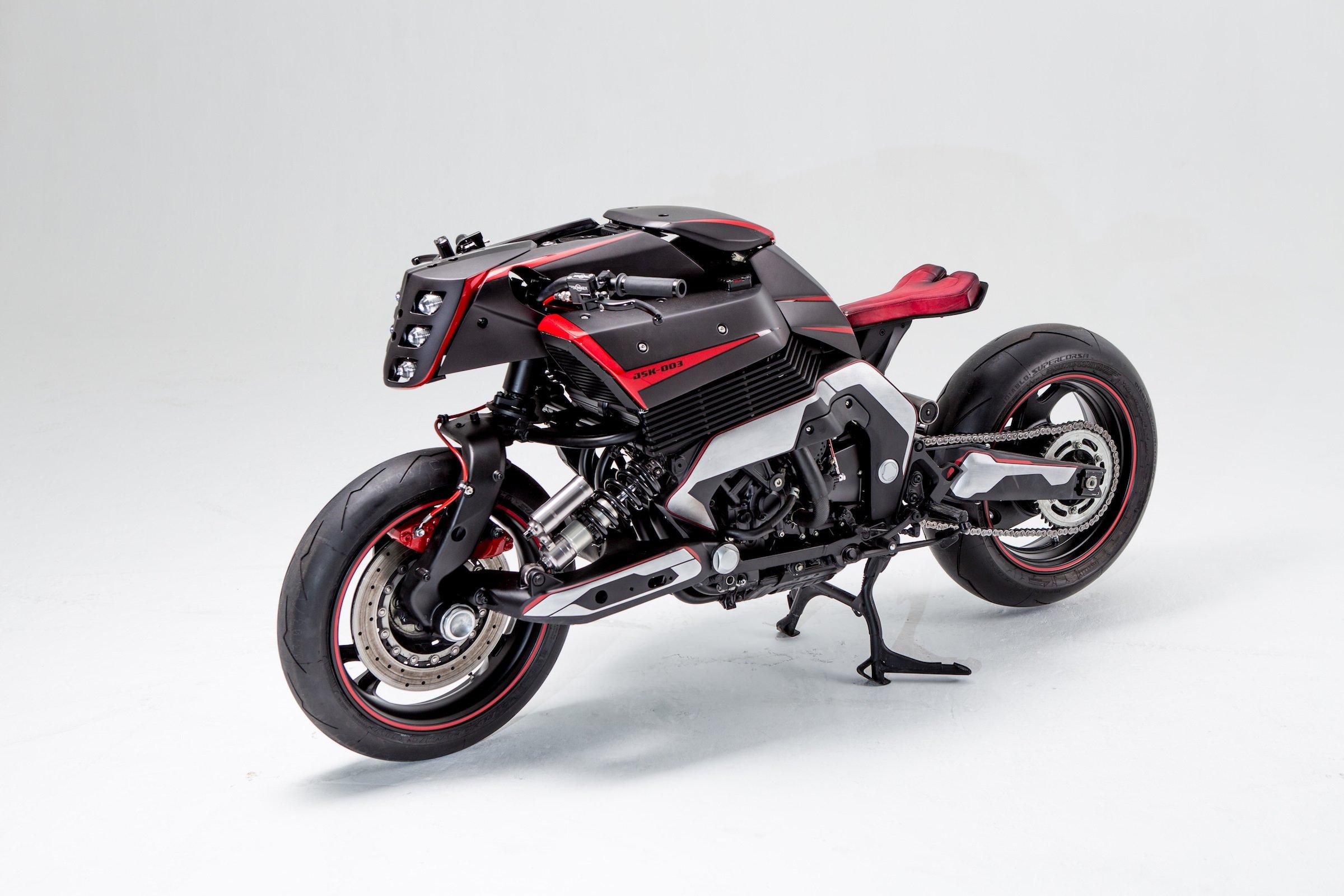 2018 Yamaha Motorcycles >> The JSK Moto Co. Custom Yamaha GTS 1000 - Project Rhodium Omega