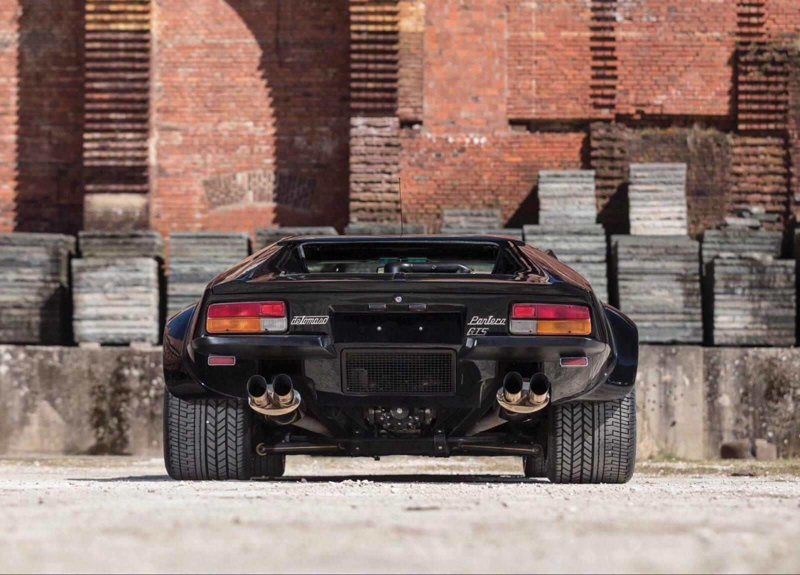 De Tomaso Pantera GT5 Back