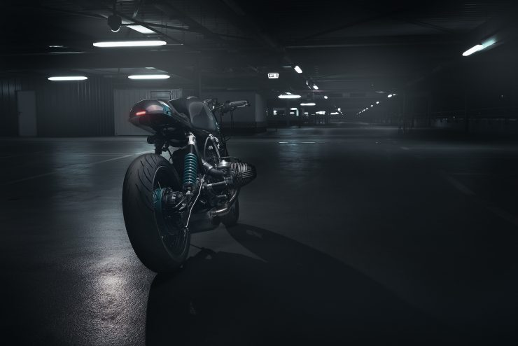 BMW R80 Monolever Parking Garage