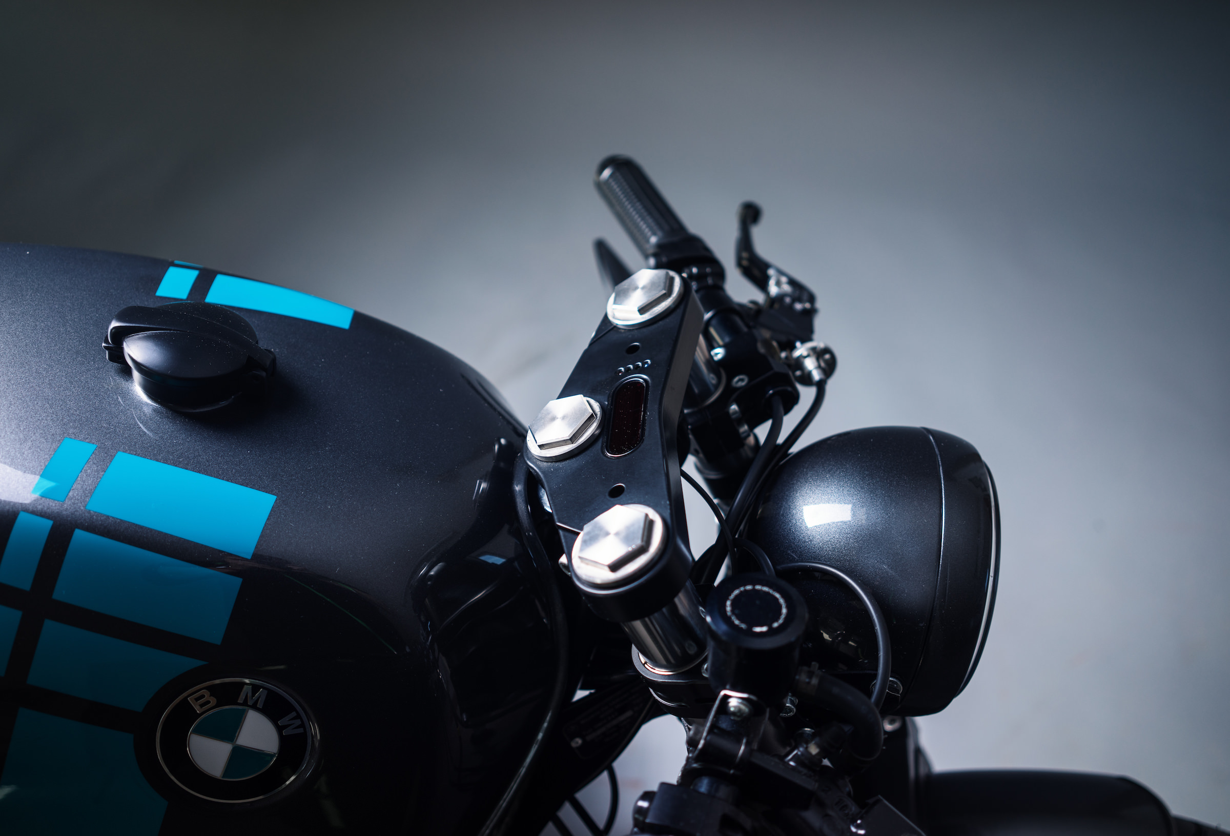 Elemental Custom Cycles Bmw R80 Monolever Cafe Racer Project 4