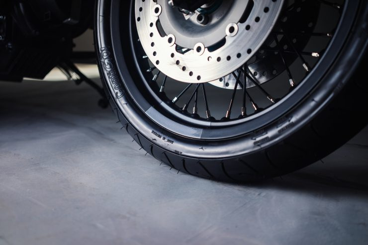 BMW R80 Monolever Tire