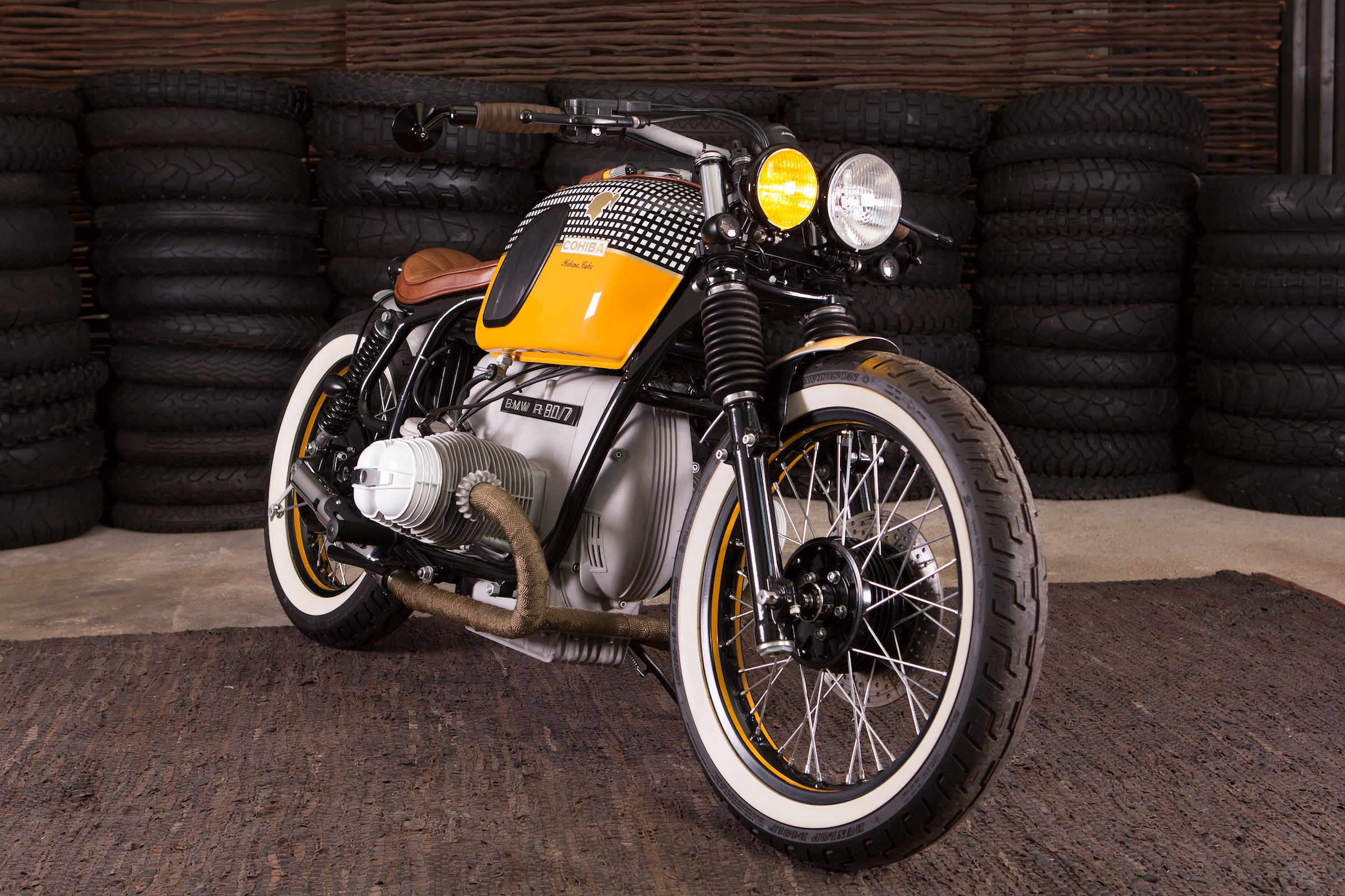 The Cytech Motorcycles BMW R80/7 Cohiba Bobber