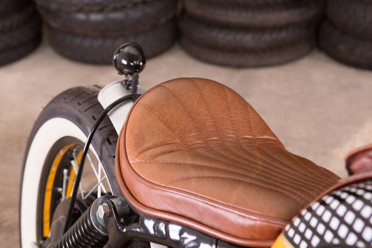 BMW R80/7 Motorcycle Seat