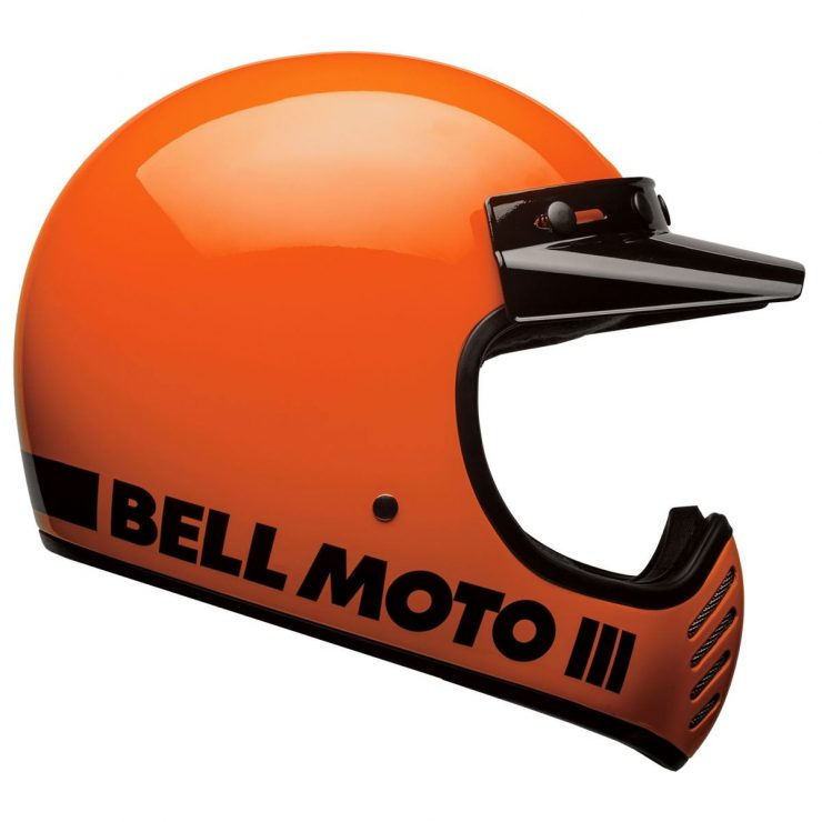 Bell Moto-3 Helmet Orange