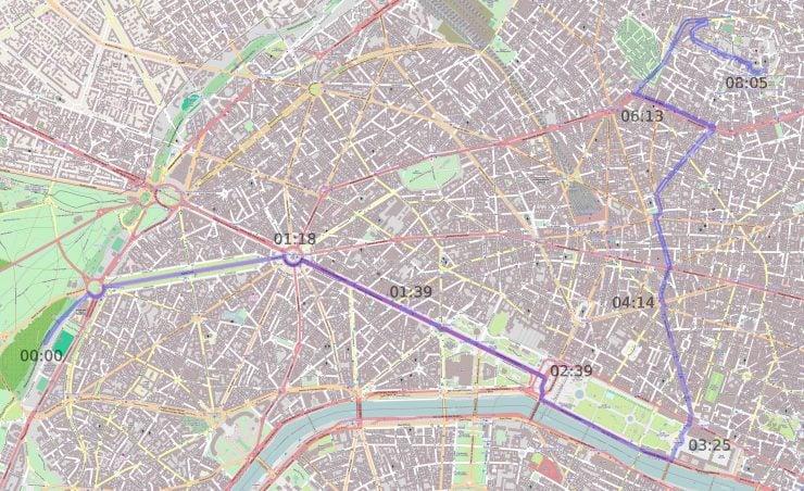 Cétait un Rendez vous Route 740x452 - Film: C'était un Rendez-vous - 1970s Street Racing in Paris