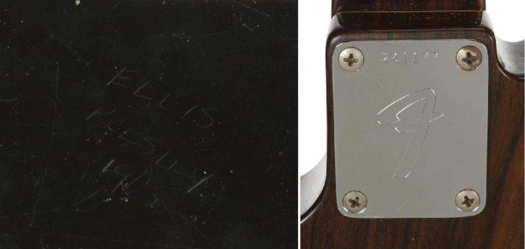 Elvis Presley's 1968 Fender Telecaster Prototype