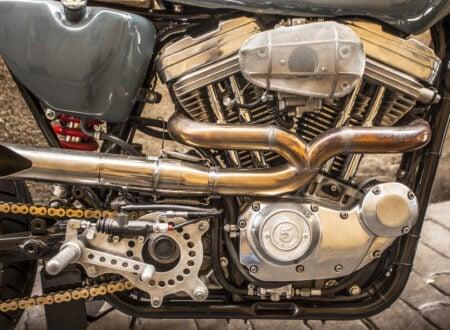 Harley Davidson Engine 450x330 - XTR Pepo Harley-Davidson Sportster Street Tracker
